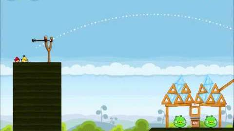 Official Angry Birds Walkthrough Mighty Hoax 4-7