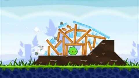 Official Angry Birds Walkthrough Poached Eggs 1-19