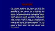 Sony Pictures Blue FBI Warning DVD WS