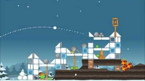 Official Angry Birds Seasons Walkthrough Season's Greedings 1-12
