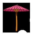 Японский зонтик