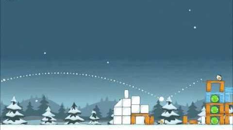 Official Angry Birds Seasons Walkthrough Season's Greedings 1-16