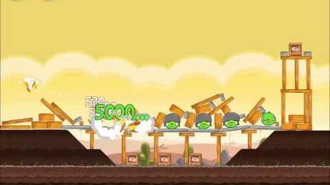Official Angry Birds Walkthrough Poached Eggs 3-18