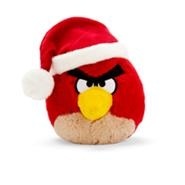 Игрушка рождественской красной птицы