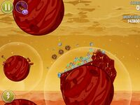 Red Planet 5-5 (Angry Birds Space)