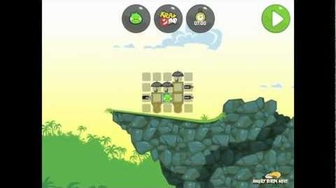 Bad Piggies Ground Hog Day 1-27 Walkthrough 3 Star