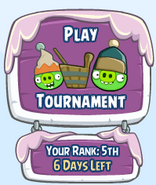 Значок Holiday Tournament