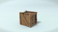 Коробка с кнопкой