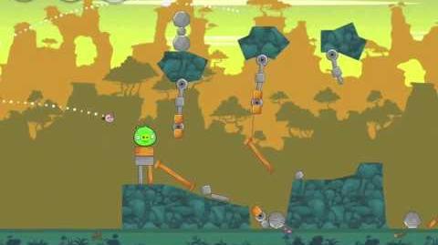 Angry Birds 23-2 Bad Piggies 3 Star Walkthrough (Angry Birds Classic 23-2)