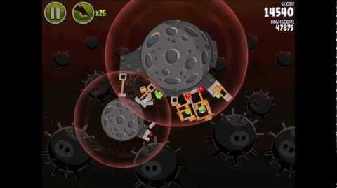 Angry Birds Space Danger Zone Level 16 Walkthrough 3 Star