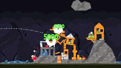 Official Angry Birds Walkthrough Mine and Dine 16-1