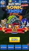 Red Sonic Dash