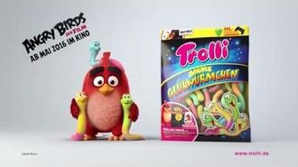 Trolli TV Spot Angry Birds