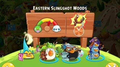 Angry Birds Epic Eastern Slingshot Woods Walkthrough