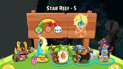 Angry Birds Epic Star Reef Level 5 Walkthrough