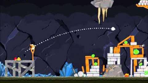 Official Angry Birds Walkthrough Mine and Dine 15-5
