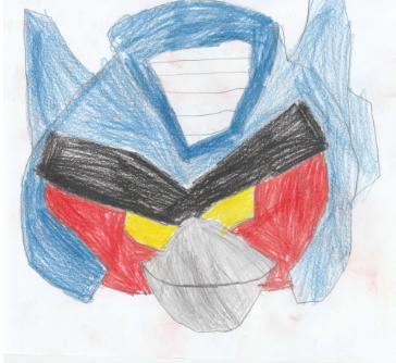 Transformer Optimusa głowa