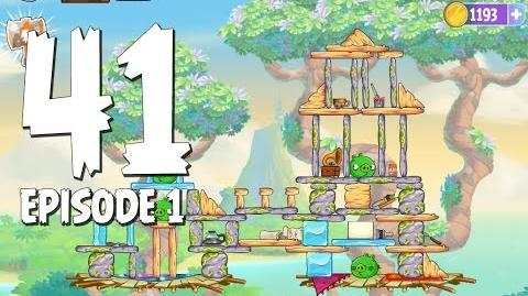 Angry Birds Stella Level 41 Walkthrough Branch Out Episode 1