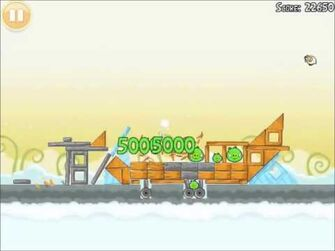 Official Angry Birds Walkthrough Danger Above 8-2