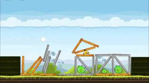 Official Angry Birds Walkthrough Mighty Hoax 4-20