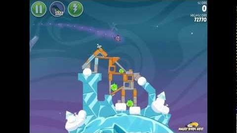 Angry Birds Space Cold Cuts 2-10 Updated Walkthrough 3-Star