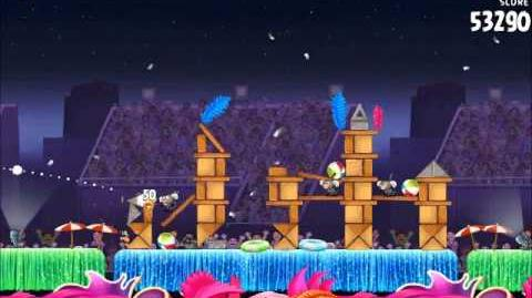 Official Angry Birds Rio Walkthrough Carnival Upheaval 7-11