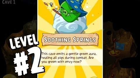 Angry Birds Epic Cave 2 Rain Plateaus Level 2 Walkthrough