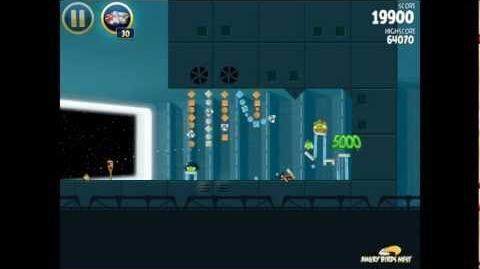 Death Star 2-27 (Angry Birds Star Wars)/Video Walkthrough