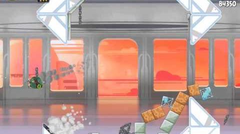 Cloud City 4-19 (Angry Birds Star Wars)/Video Walkthrough