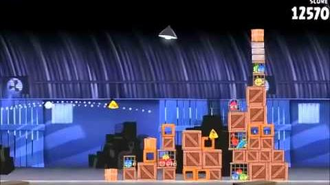 Official Angry Birds Rio Walkthrough Smuggler's Den 1-13