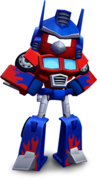 RED OPTIMUS PRIME