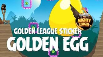 Secret Angry Birds Golden League Sticker Golden Egg Walkthrough - Bird Island Update