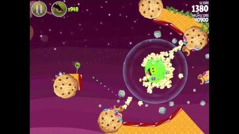 Angry Birds Space Utopia 4-30 Walkthrough 3-Star