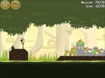 Official Angry Birds Walkthrough Danger Above 6-8