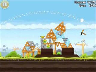 Official Angry Birds Walkthrough The Big Setup 10-9