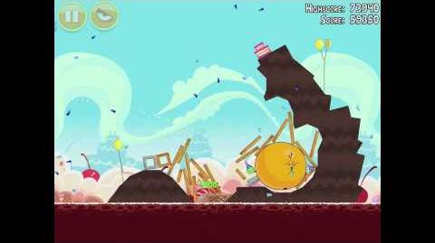 Angry Birds Birdday Party 18-1 Walkthrough 3 Star Birthday Party