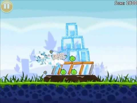 Official Angry Birds Walkthrough Poached Eggs 1-12