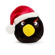 Игрушка рождественской чёрной птицы