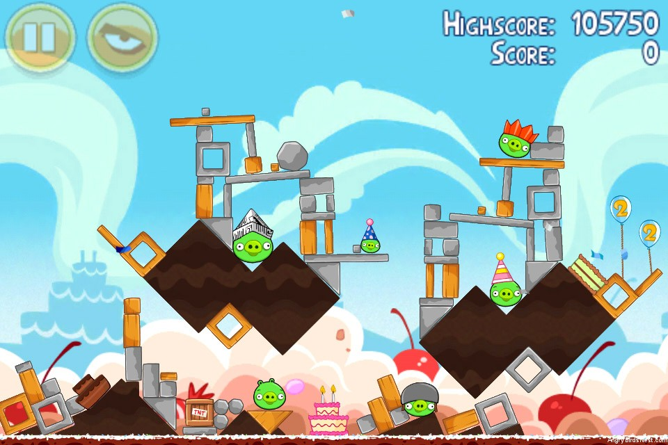 Angry Birds Birthday Party Level 4 15 Best Bird 2017