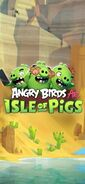 Angry Birds AR Isle of Pigs iPhone3