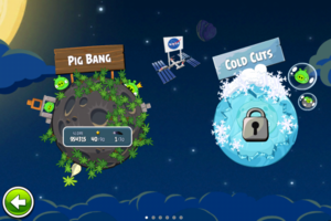 Angry birds space planet levels