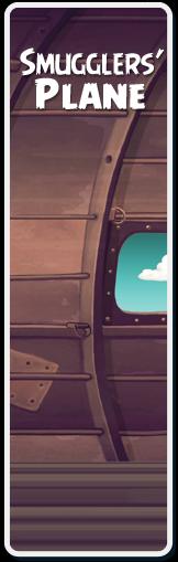 Smugglers plane
