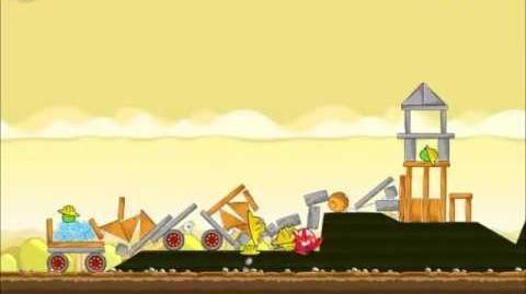 Official Angry Birds Walkthrough The Big Setup 10-13