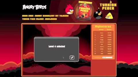 Angry Birds - Volcano - Secret Codes