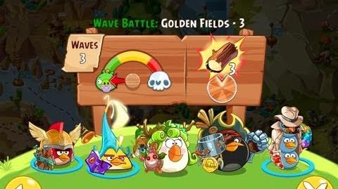 Angry Birds Epic Golden Fields Level 3 Walkthrough
