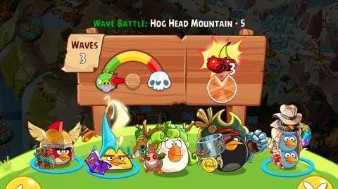 Angry Birds Epic Hog Head Mountain Level 5 Walkthrough