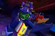 Soundwave Completing Level