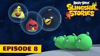 Angry Birds Slingshot Stories Ep. 8 Space invaders