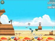 Official Angry Birds Rio Walkthrough Beach Volley 6-3