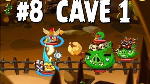 Updated Angry Birds Epic Cave 1 Shaking Hall Level 8 Walkthrough
